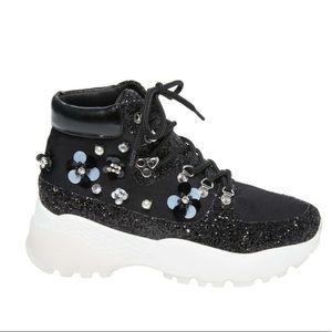 Betsey Johnson sneaker boot